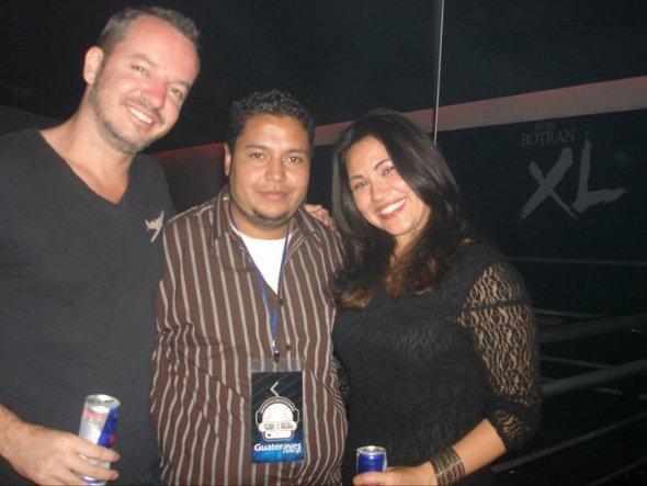 Athena in Guatemala with trance god: Max Gramwell