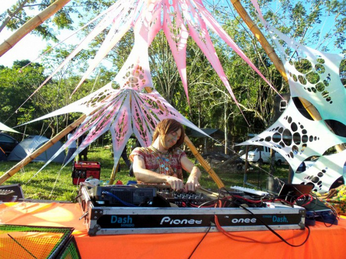 Psykovsky Pt 3 Live In Popol Vuh Space Mother Ship 2012 @ Palenque Mexico