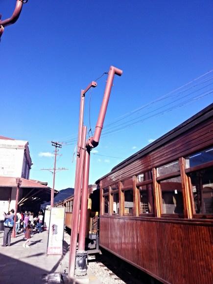 Train ride to La Nariz del Diablo