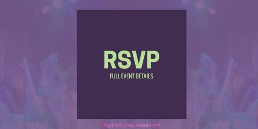 RSVP FULL EVENT DETAILS