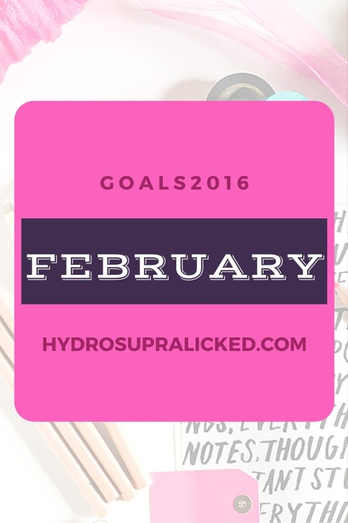 FEBRUARY GOALS 2016 ALLY FIESTA HYDROSUPRALICKED