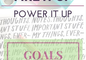 Monthly Goals Theme: FIRE IT UP-POWER IT UP!