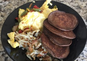 Protein pancakes with Bob's Red Mills