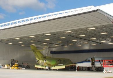 Bifold Doors Aircraft Hangar Door Commercial Hydraulic
