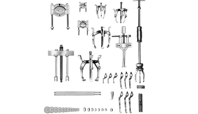 Hydrotools, Hydrotools, 10 Ton Manual Puller Set