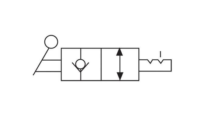 Hydrotools, Hydrotools, 2-way, 2-position Manual