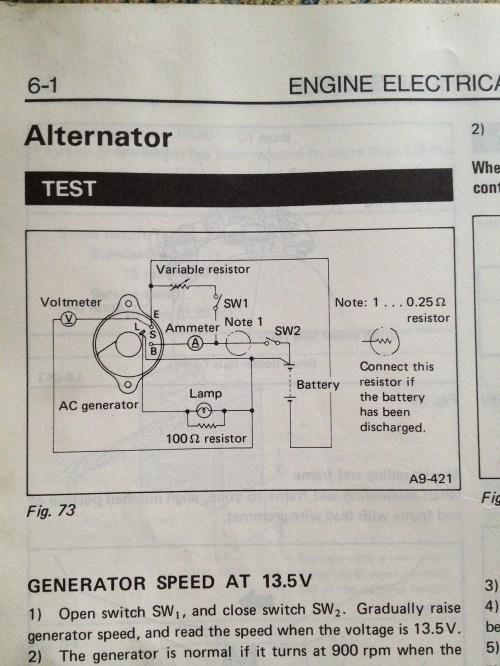 small resolution of 1985 subaru gl wagon alternator wiring diagram old gen 80 u0027s gl88 subaru gl wiring