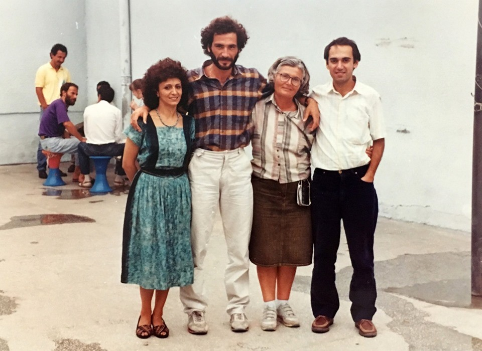 Bir cezaevi serbest görüşü, Nimet Demir, Süleyman Biber, Cevriye Biber ve Süalp Çekmeci