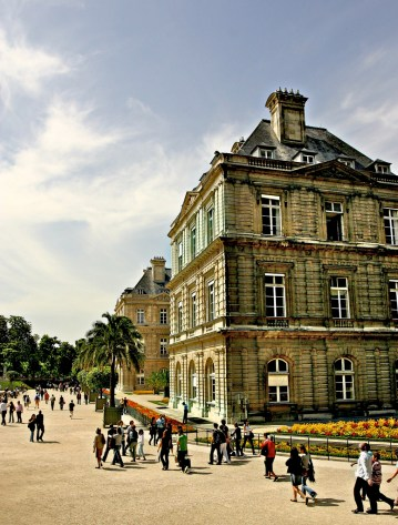 Paris, France. Luxembourg Gardens