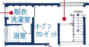 シンケンスタイルの家