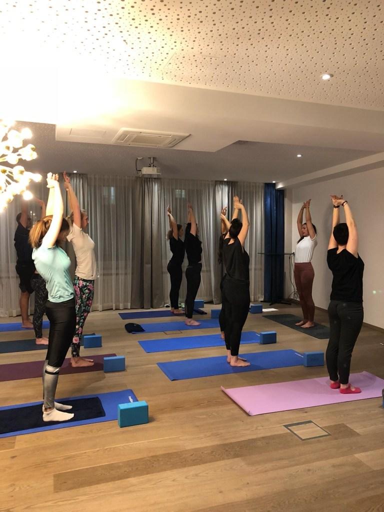 Business Yoga at Brand Trust Gmbh