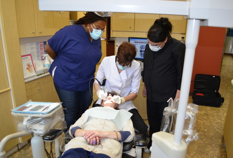 Hands-on dental instrumentation practice