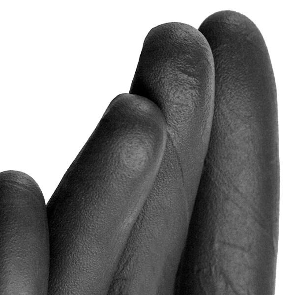 AMMEX® Black Nitrile Powder-Free Exam Gloves