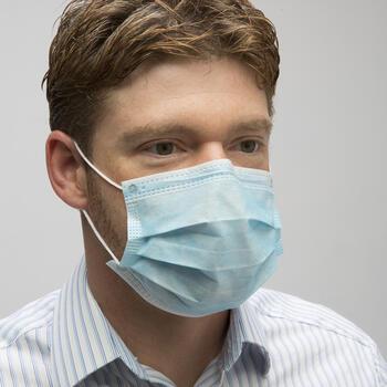 AMMEX Ear Loop Face Masks
