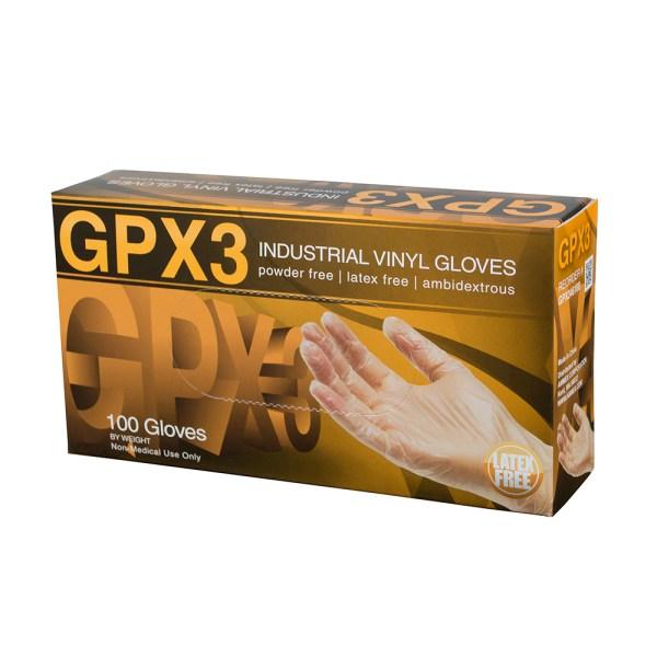 Clear Vinyl Glove - GPX3