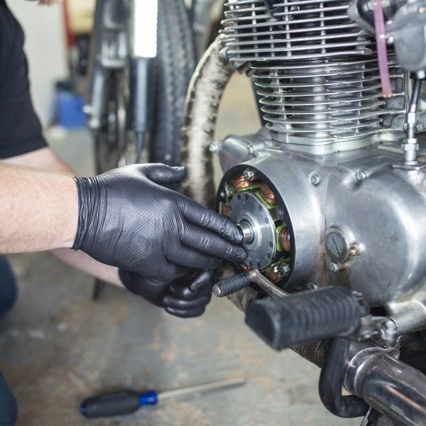 HD Black Nitrile Gloves