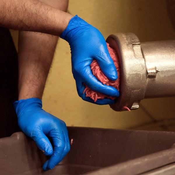 HD Royal Blue Nitrile Gloves