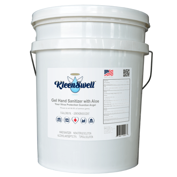 KleenSwell™ Gel Hand Sanitizer, 5-Gallon Pail, 70% alcohol