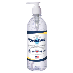 KleenSwell™ Gel Hand Sanitizer with Aloe - 16-oz Bottle