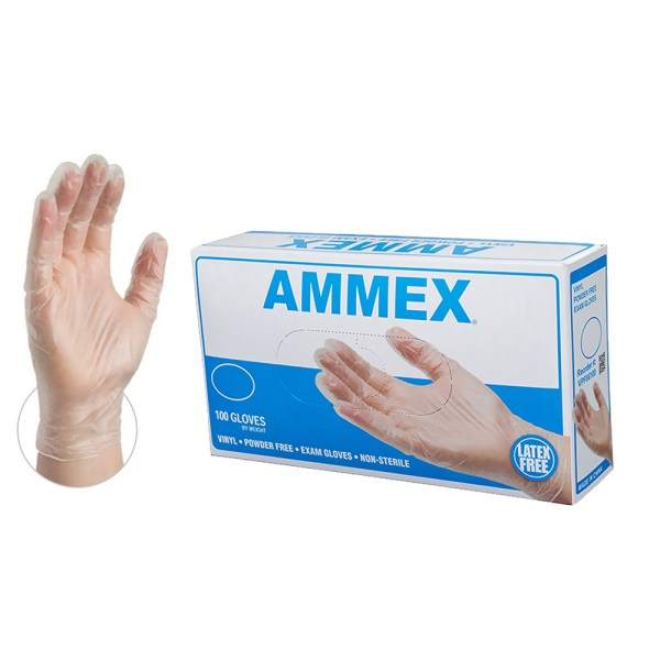 Vinyl Exam Gloves