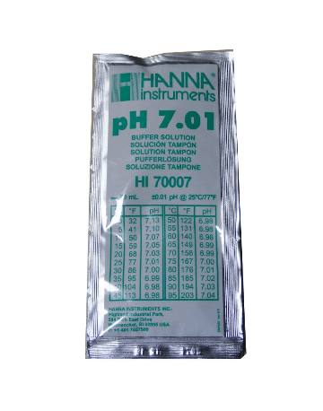 Hannah Instruments pH Buffer 7.01 Sachet