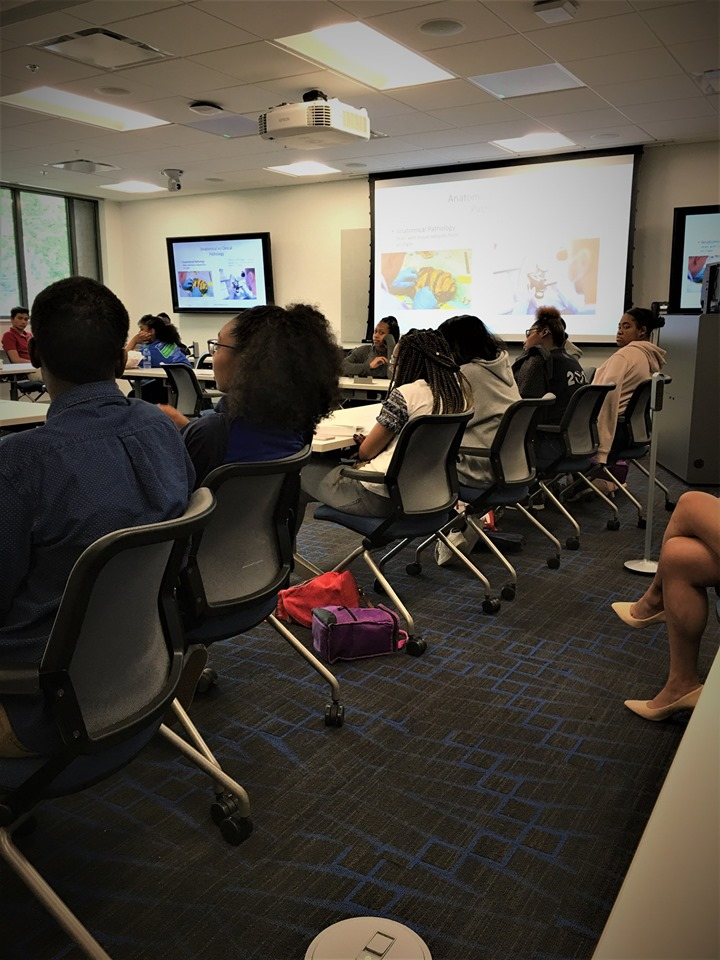 Summer Camp Visit at Morehouse School of Medicine - hyImageTech