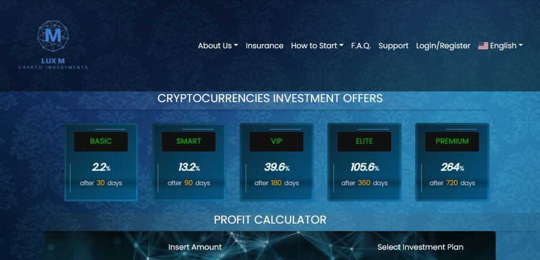 Luxcripto Hyip Review : It Is Scam Or Paying? Read Our Review