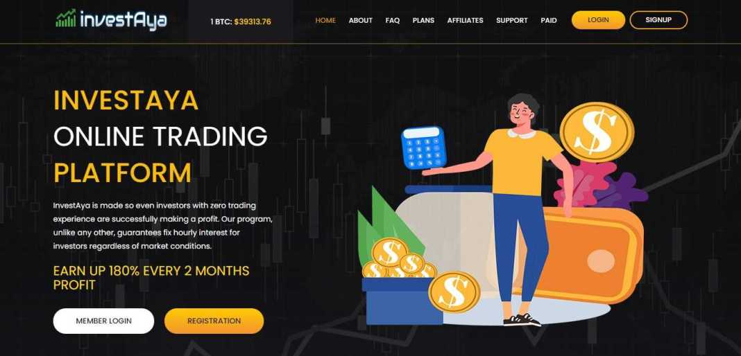Investaya Hyip Review : It Is Scam Or Paying? Read Our Review
