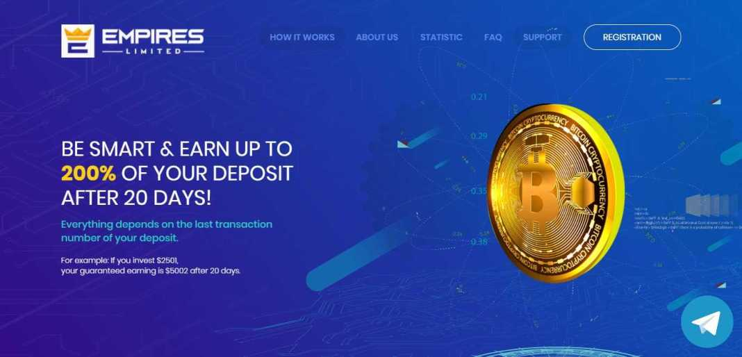 Empiresltd Hyip Review : It Is Scam Or Paying? Read Our Review