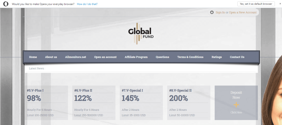 Globalfund Hyip Review : It Is Scam Or Paying? Read Our Review