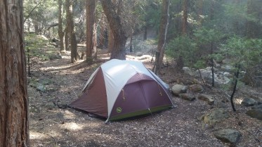 Our humble little campsite.