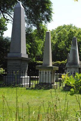 Judah Touro's Tomb in Newport Jewish Cemetery