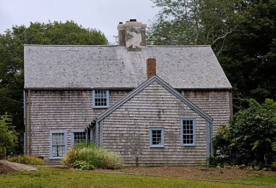 The John Alden House, Duxbury, Massachusetts (photo credit: ronaldc)