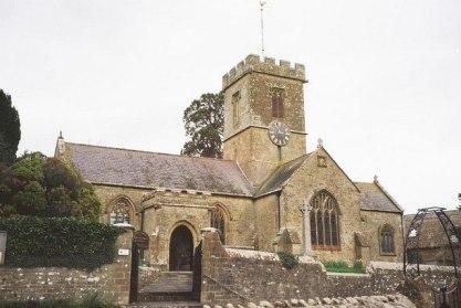 Parish church of St John the Baptist, Symondsbury, Dorset, England