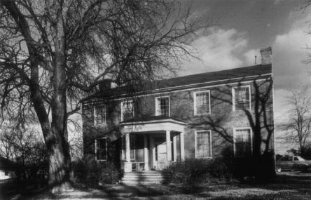 The Gen. David Thomson House (1840) - listed on the National Register of Historic Places