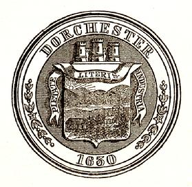 Town Seal of Dorchester, Massachusetts