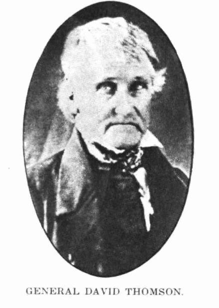 Gen. David Thomson, 1775-1861
