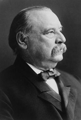President Grover Cleveland, 1903 (photo by Frederick Gutekunst)