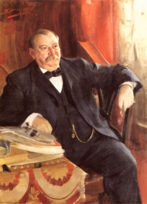 Grover Cleveland, 1899 (painting by Anders Zorn)