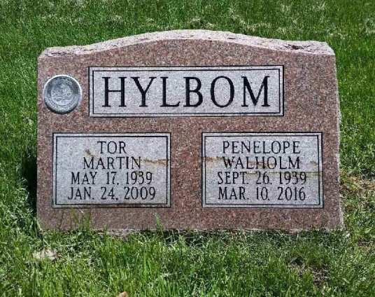 (T)or Martin Hylbom (1939-2009) and Penelope Walholm Hylbom (1939-2016), my parents