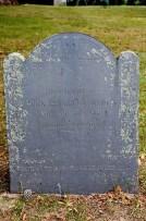 Priscilla (Mullins) Alden grave marker, Duxbury, Massachusetts (photo credit: ronaldc)