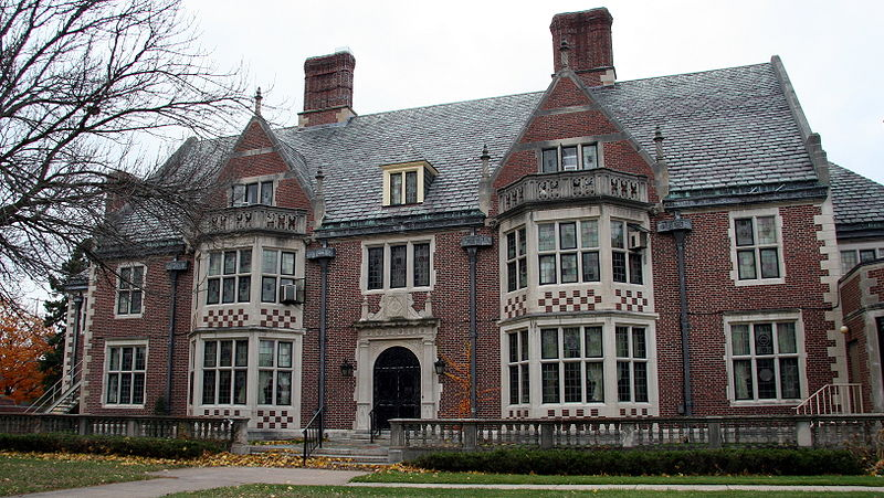 The Watkins Home, built by Paul & Florence Watkins between 1924-27, is now operated as Watkins Manor, an assisted living community of nearly 60 senior apartments in Winona, Minnesota. Paul is my g-grandfather and the 5th great grandson of my immigrant ancestor, Thomas Watkins of Boston, Massachusetts. The property is located at 175 E. Wabasha Street. (photo by Jonathunder)