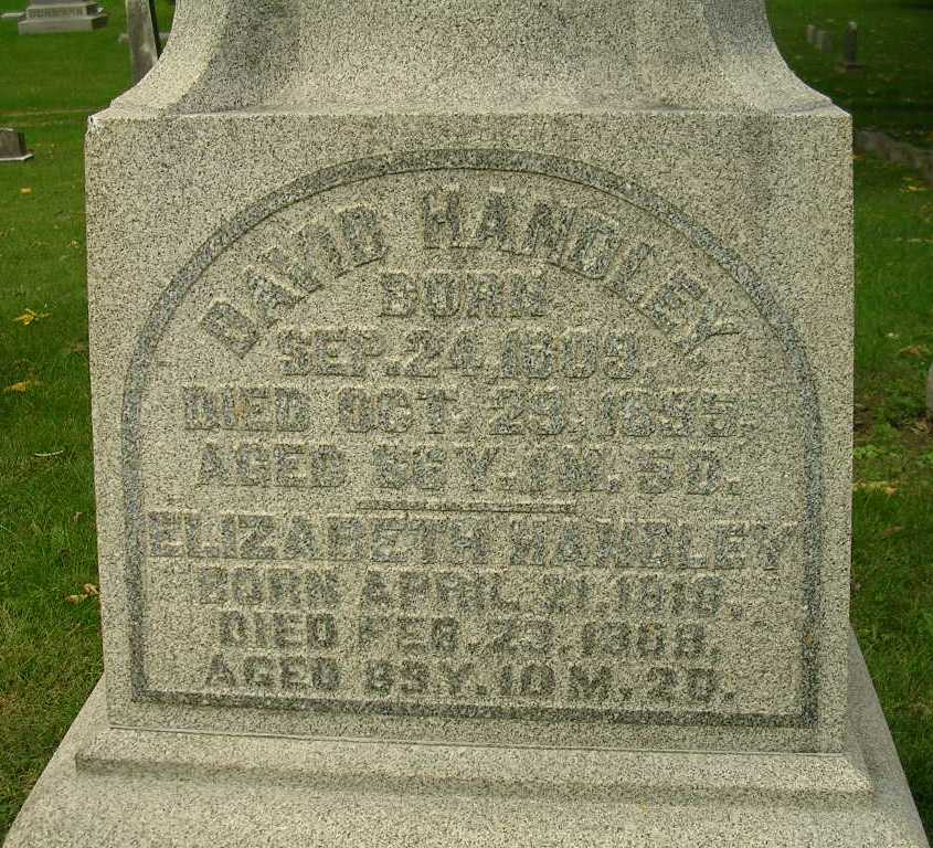 Handley monument – Green Lawn Cemetery, Columbus, Ohio