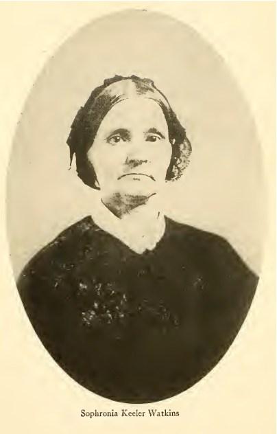 Sophronia (Keeler) Watkins (1804-1879)