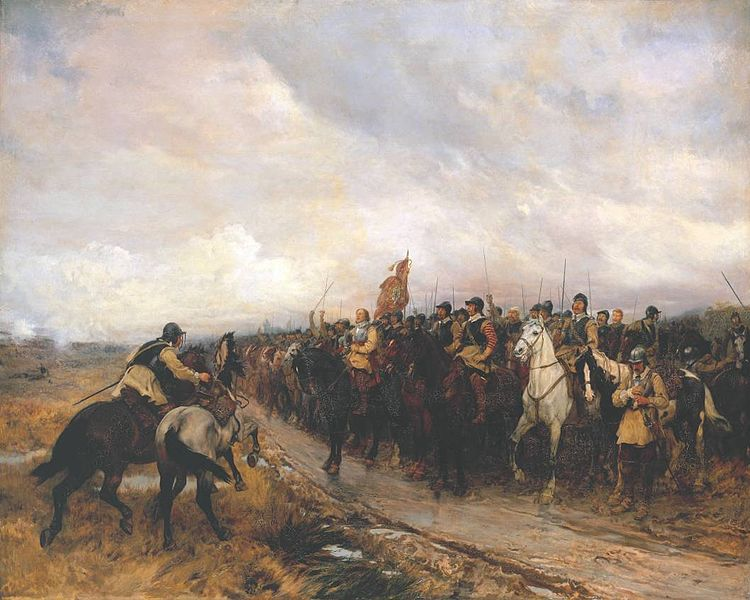Cromwell at Dunbar, painting by Andrew Carrick Gow (1848-1920), Tate Collection