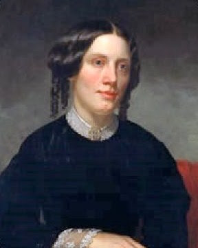 Harriet Beecher Stowe - Portrait by Alanson Fisher at the National Portrait Gallery in Washington, D.C.