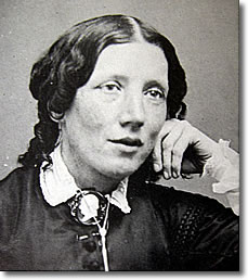 Harriet Beecher Stowe, American abolitionist and author