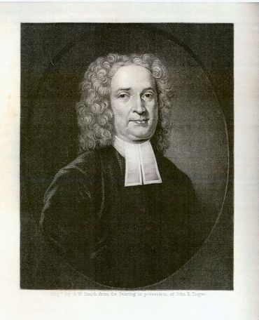 Rev. John Cotton (1585-1652), engraving made in 1856 by H.W. Smith, copied from a painting