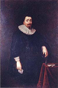 "Sir George Calvert, 1st Baron Baltimore (""Lord Baltimore""), 8th Proprietary Governor of Newfoundland (1579-1632)"