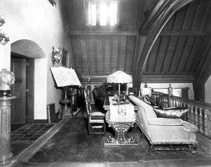 The Minstrel's Gallery, looking east